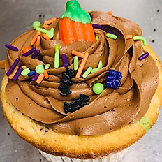 Pumpkin Patch Jumbo Cupcakes
