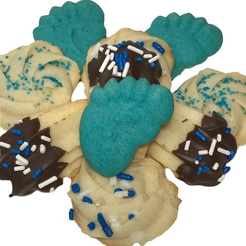 Its A Boy Italian Butter Cookies