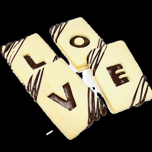 Belgian Chocolate Love Cookies