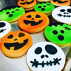 Decorated Round Sugar Cookies