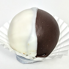 Black N White Cake Ball