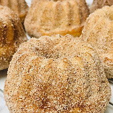 Apple Cider Mini Bundt Cakes