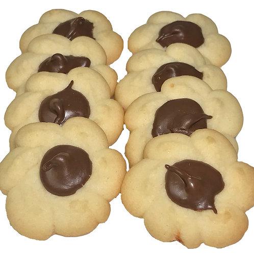 Chocolate Drop Italian Butter Cookies