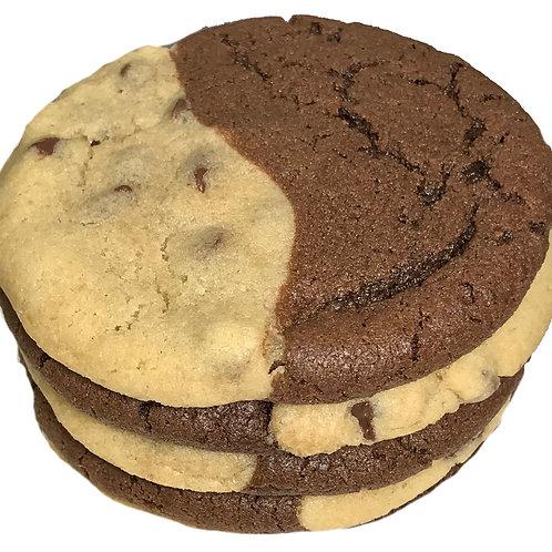 Brookie Chocolate Chip Brownie