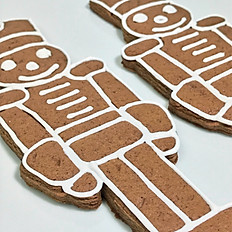 Toy Soldier Gingerbread Cookies