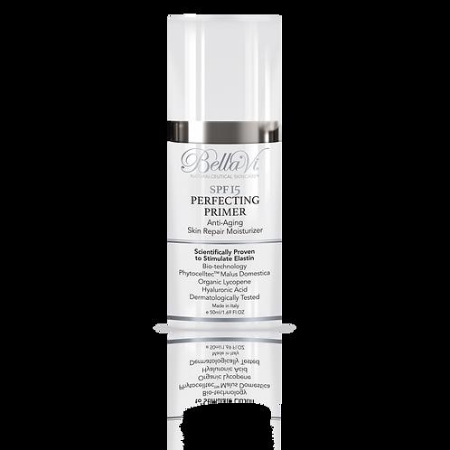 Bella Vi SPF 15 Perfecting Primer Anti- Aging Skin Repair Moisturizer