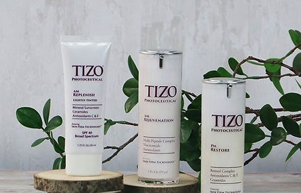 Tizo products Absolute Beauty Workshop.