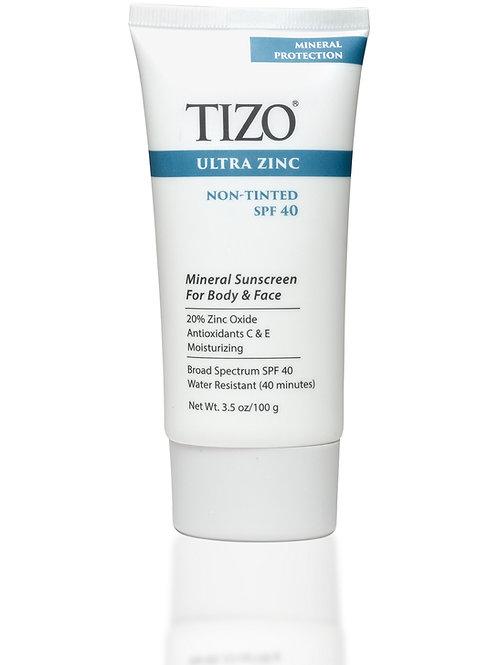 TiZO®Ultra Zinc Body & Face SPF40 - tinted and non-tinted - 100g