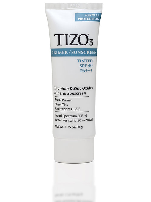 Tizo3 Facial Primer Sunscreen Tinted Matte Finish SPF40
