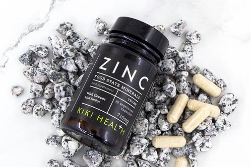 Kiki Health Zinc Food State Minerals. Vegan.