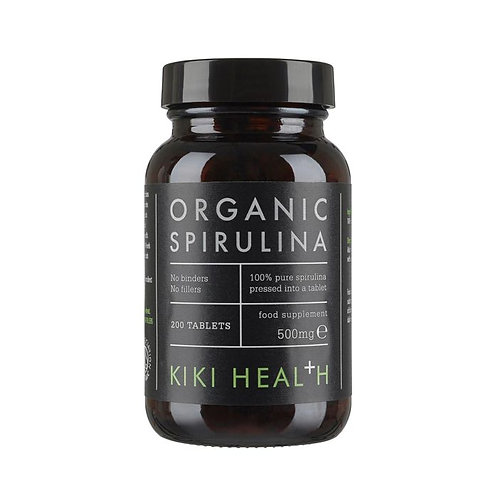 Kiki Organic Spirulina Powder - 200 tablets