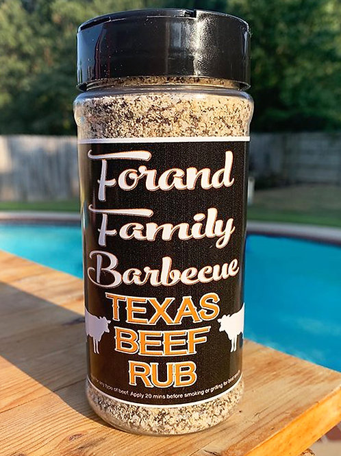Forand Family Barbecue Texas Beef Rub