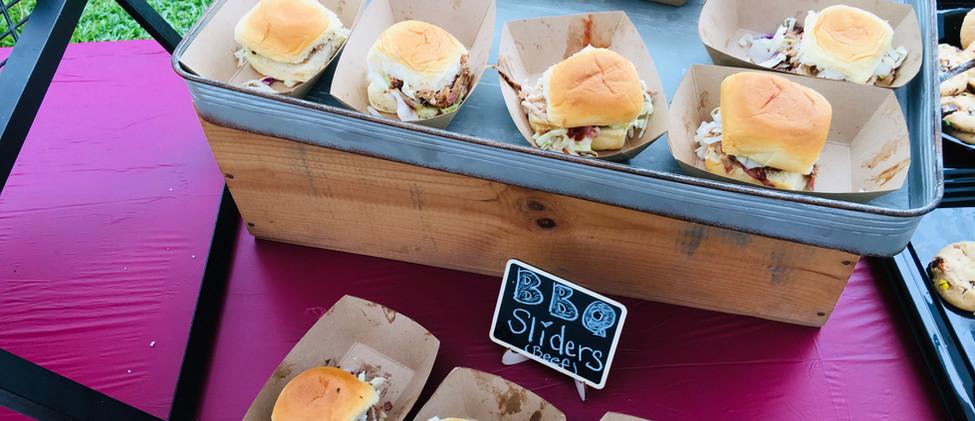Pork and Beef Sliders