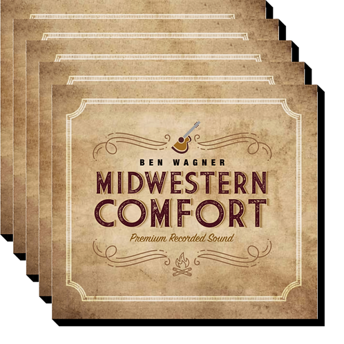 Signed Midwestern Comfort 5-CD Bundle