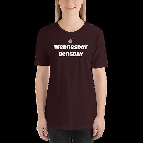 WEDNESDAY BENSDAY Short-Sleeve Unisex T-Shirt