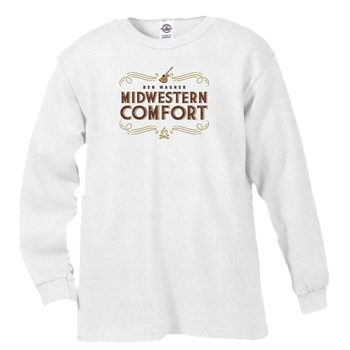 Super Comfy Midwestern Comfort Long-Sleeve Pullover Shirt