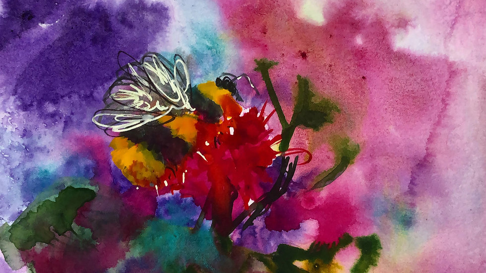Bee series Original painting