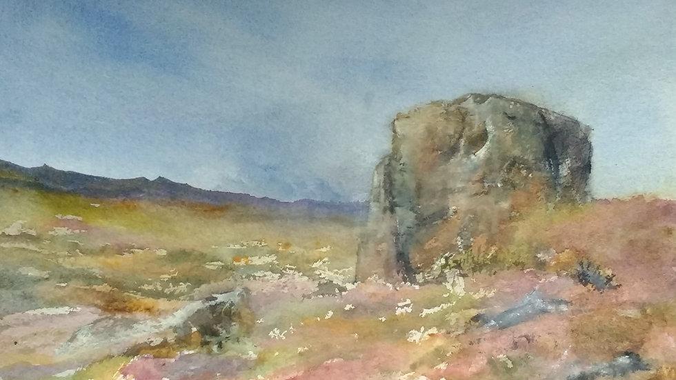 Boulder, Ramshaw Rocks Staffordshire Moorlands