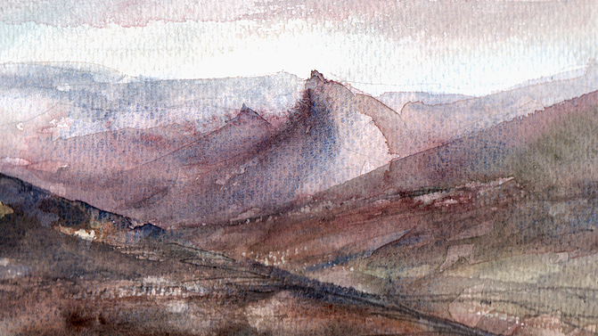 """From Axe Edge, """"Those Hills"""""""