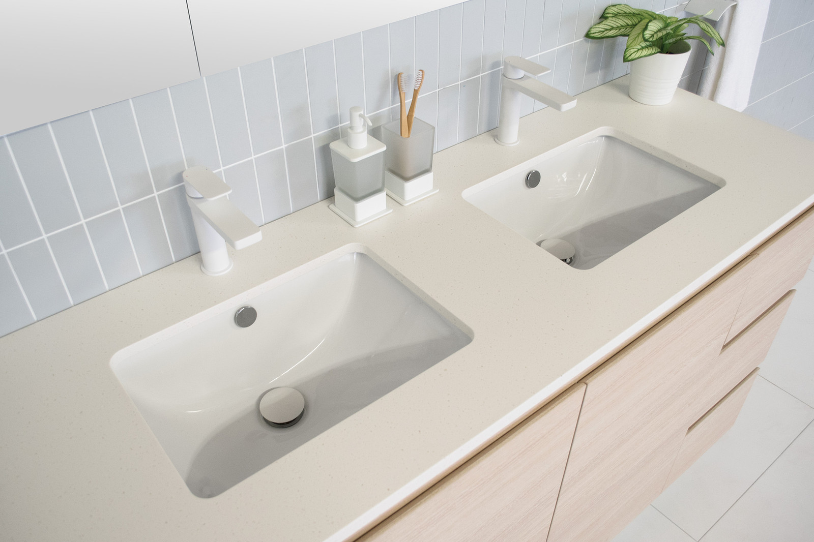 Glacier Quartz Vanity Architectural Designer Products