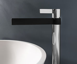 Martini Extended Basin Mixer_Chrome Blac