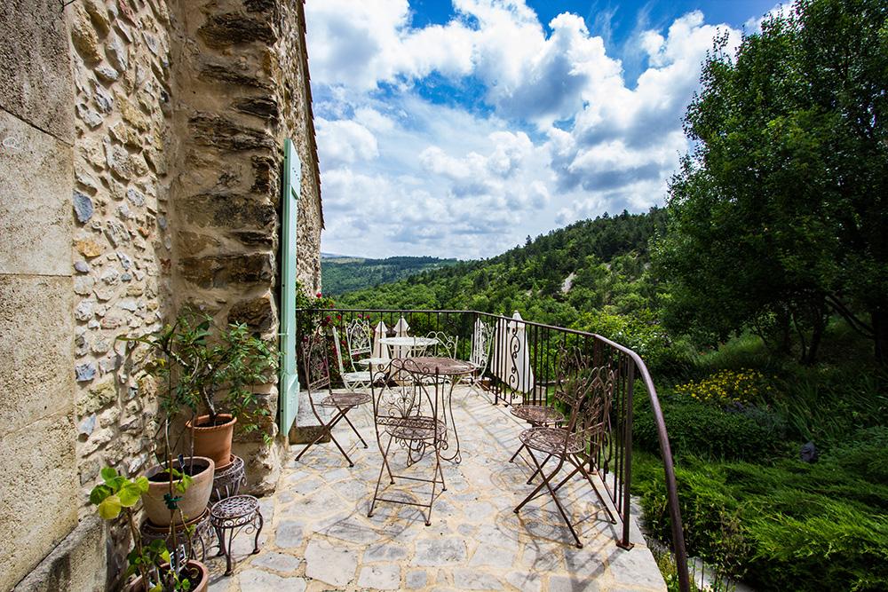 Terrasse at Le Cyprès