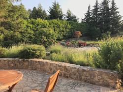 West Garden of La Combette