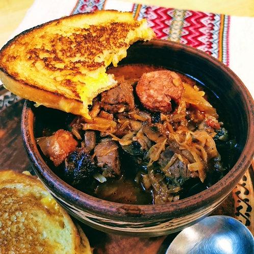 Bigos - Polish Hunter Stew