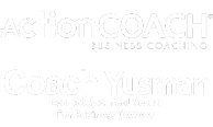 ActionCOACH CoachYusman Logo White 300px
