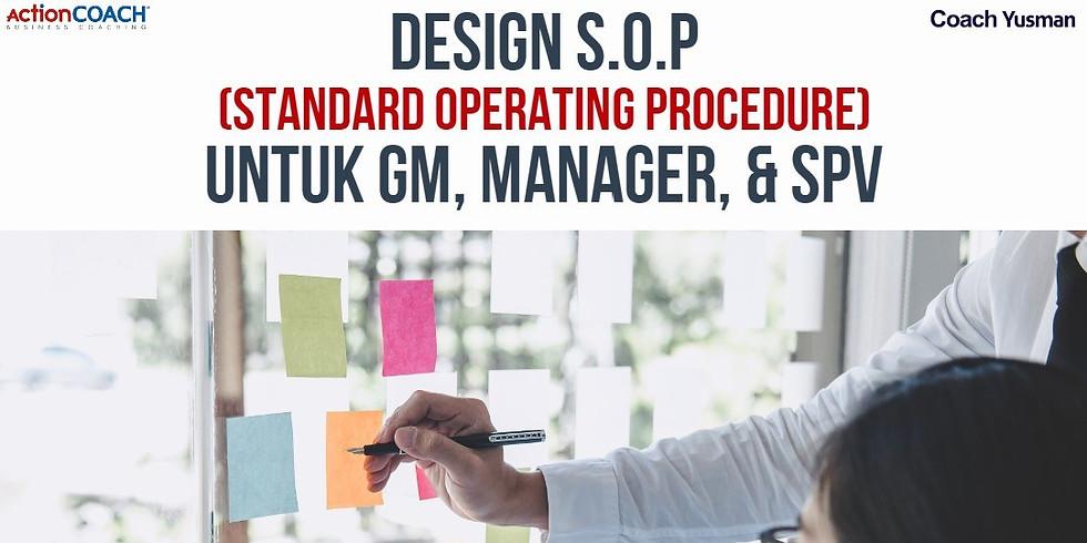 """Workshop 1 Hari """"Design & Implementasi SOP (Standard Operating Procedure)"""""""