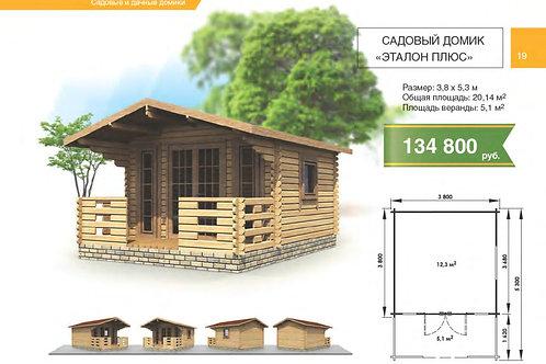 Садовый дом Эталон плюс 3.8х5.3м