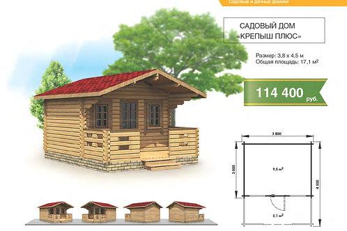 """Садовый дом """"крепыш плюс"""" 3.8х4.5м"""