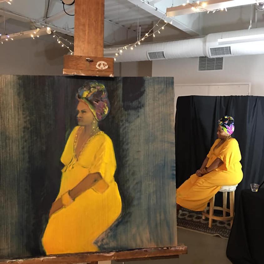 Open Studio Portrait Sessions - Weds 6:30 - 9:30