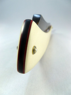 7_8 French Point in lined Ivory Micarta 4