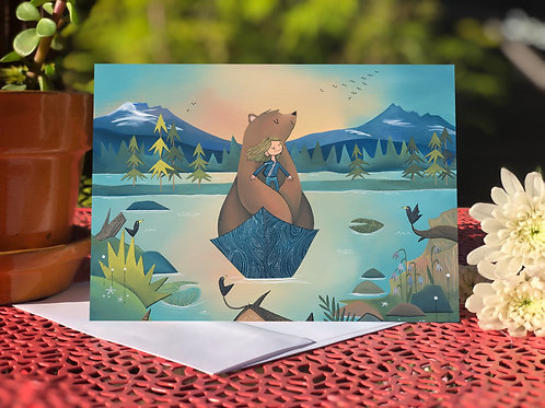 #75 Sparks Lake- Blank Card