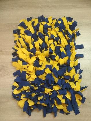 Mata węchowa żółto - niebieska duża 40x60 cm