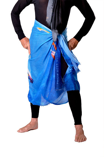 The Spirit Fish Sarong • SRG SKL 6-409