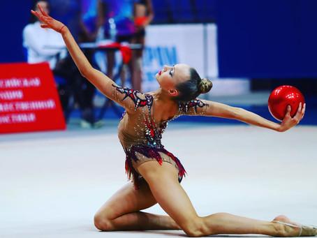 Наши гимнастки приняли участие в Чемпионате Московской области