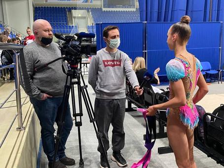 Репортаж на телеканале ЛРТ с Ярославой Крыловой