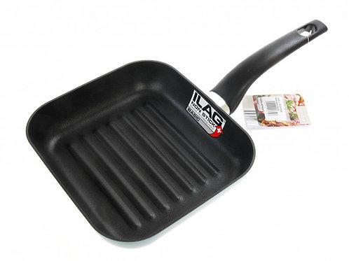 Сковорода-мини гриль алюминиевая c антипригарным покрытием ILAG