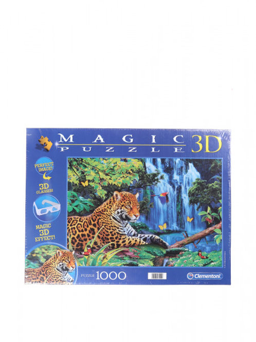 "3D пазл""Леопард"" Clementoni"