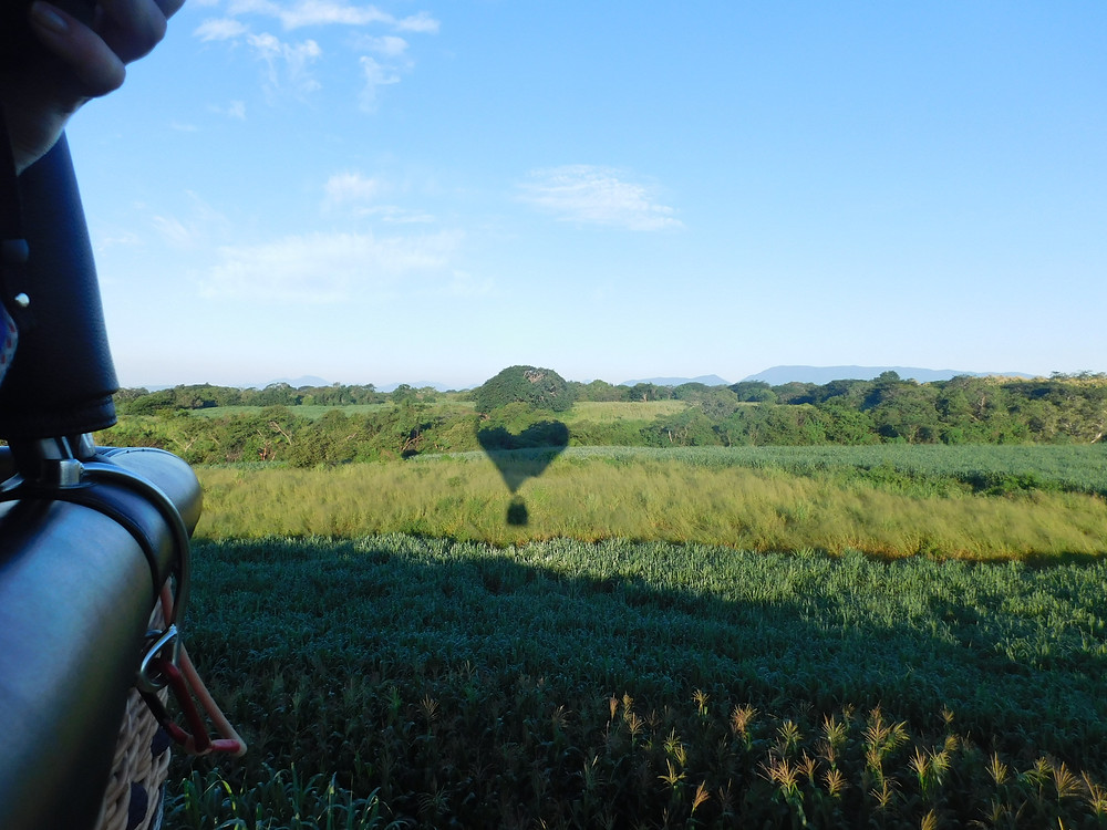 Sombras de un viaje en globo