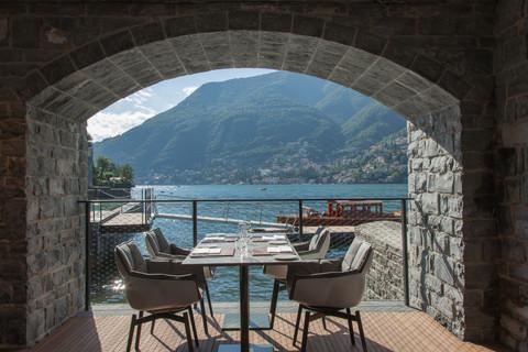 ITALIA: Una estrella para el restaurante Berton Al Lago, en el hotel Il Sereno Lago di Como