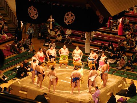 JAPÓN: Para peleas, Sumo
