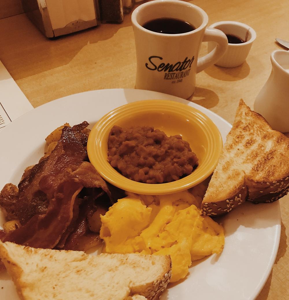 Desayunando en Toronto
