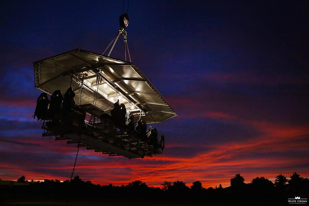 Dinner In The Sky Campo Marte