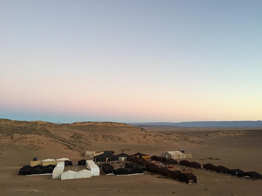 Campamento en Zagora