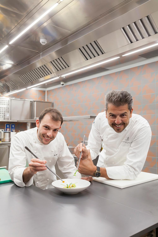 Chefs Rafaelle Lenzi + Andrea Berton