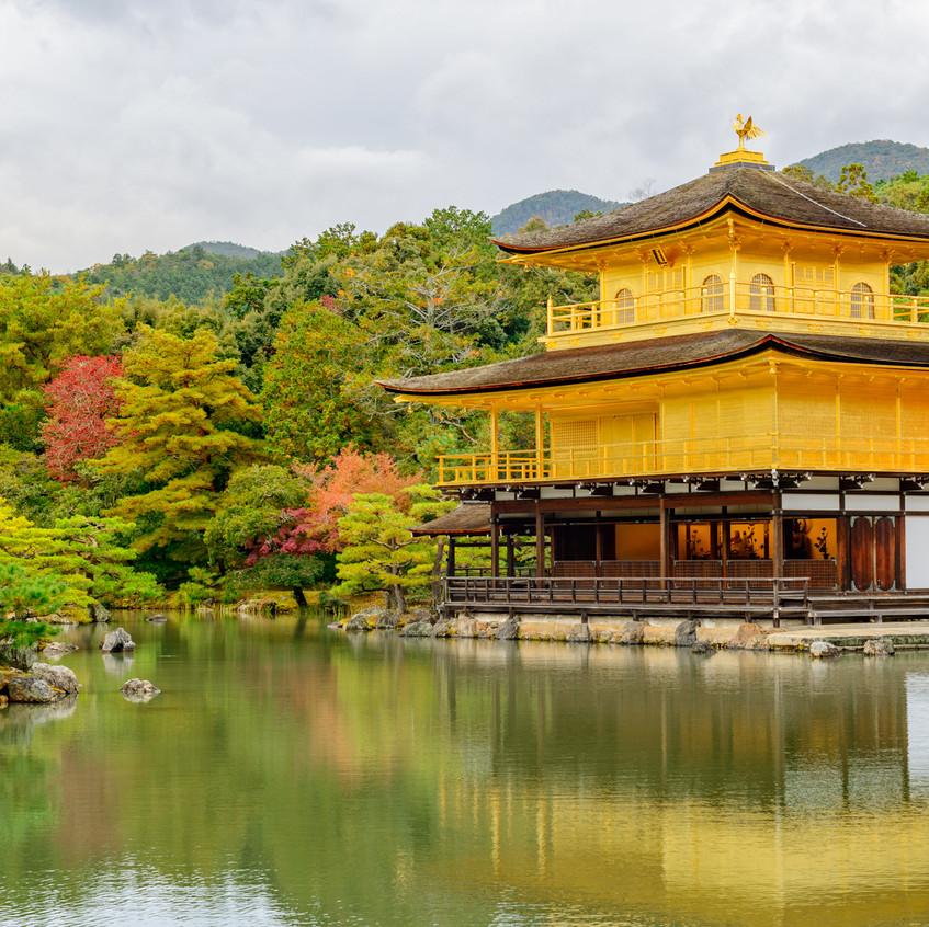 The Golde Temple en Kioto