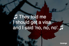 NOTICIAS: La confusa historia de los mexicanos y la visa de Canadá